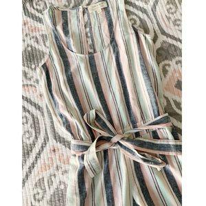 | Anthropologie | Cloth & Stone Stripe Jumpsuit